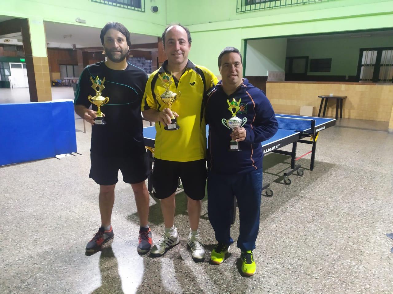 Tenis de mesa para personas con síndrome de Down: Juan Pablo Castet, subcampeón en San Nicolás
