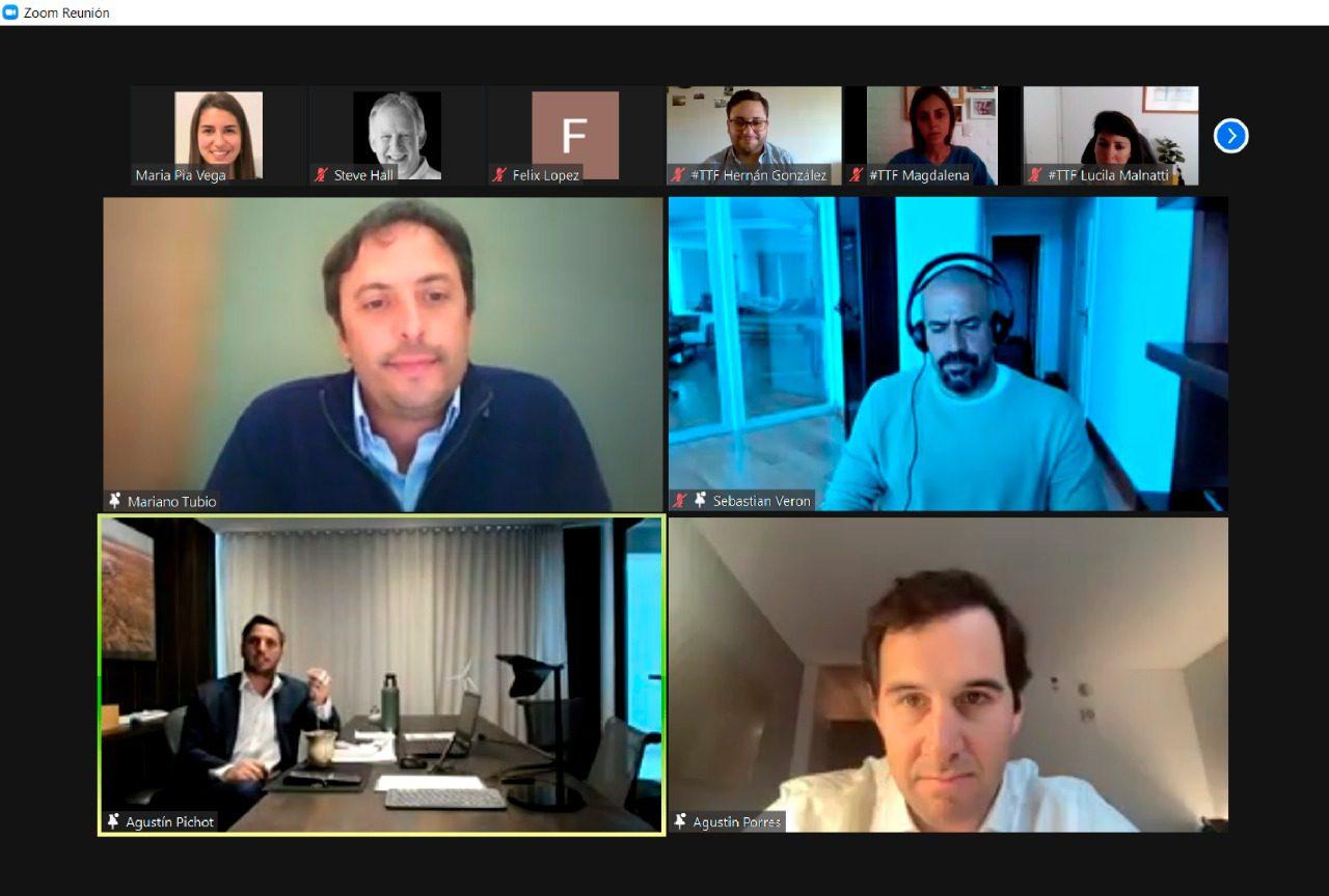 Mariano Tubio brindó una charla sobre liderazgo en el deporte junto a Juan Sebastián Verón y Agustín Pichot