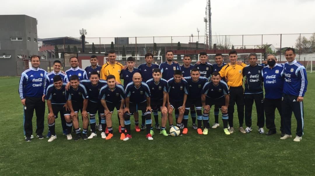 Los seleccionados de fútbol de FADDIM se concentrar en Ezeiza